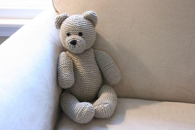 Cute Amigurumi Knitting Patterns : Ravelry teddy bear by debbie bliss free pattern knit so cute