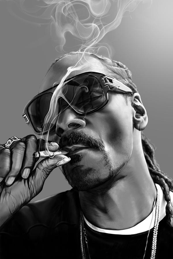 Snoop Dogg On Behance Snoop Dogg Hip Hop Artwork Snoop