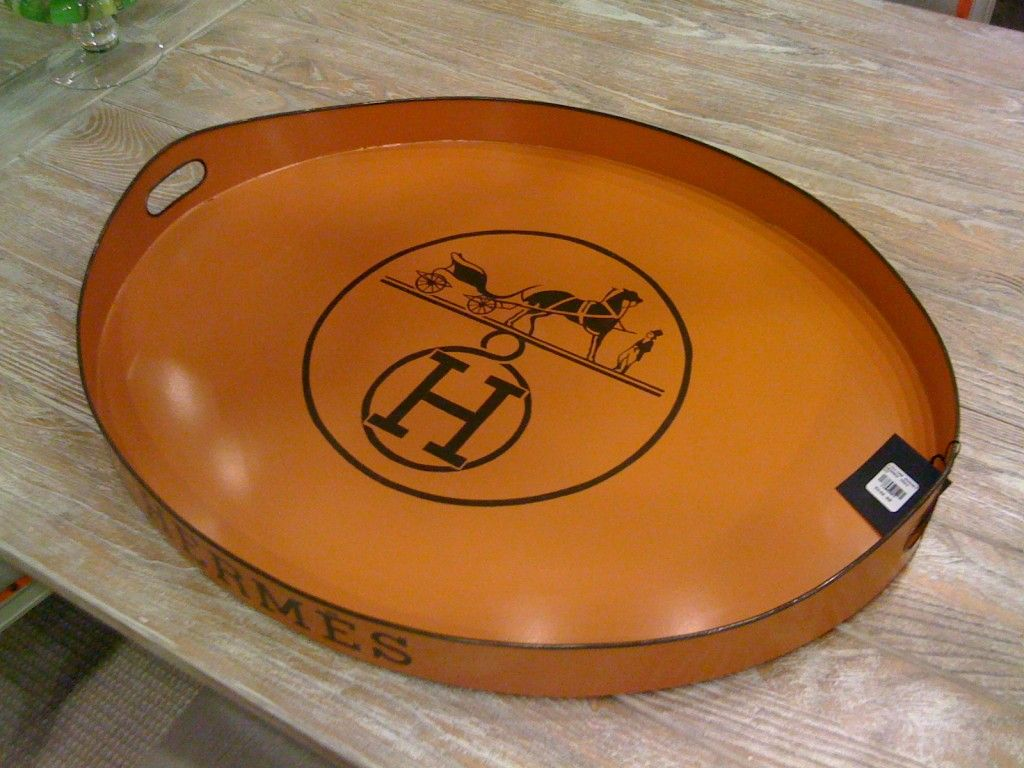 replica hermes tray