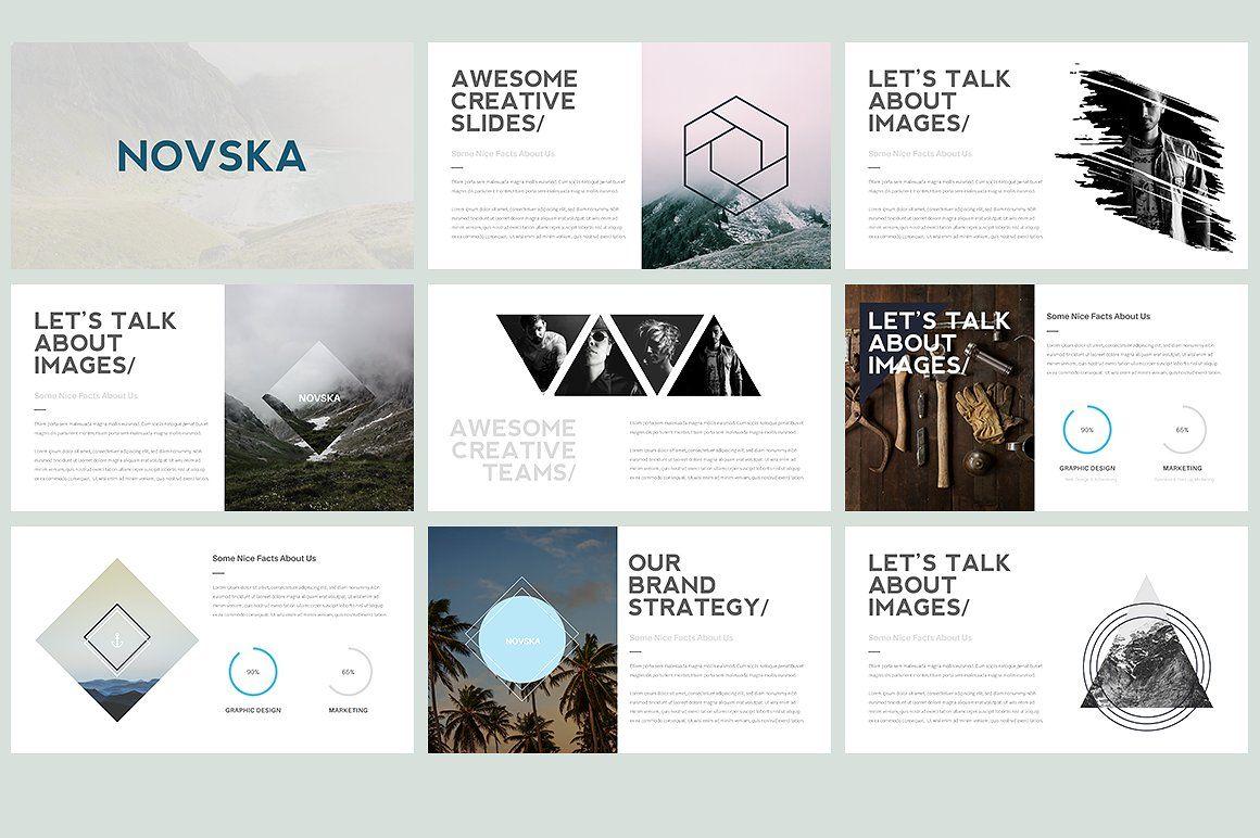Novska Modern Powerpoint Template By TempLabs On