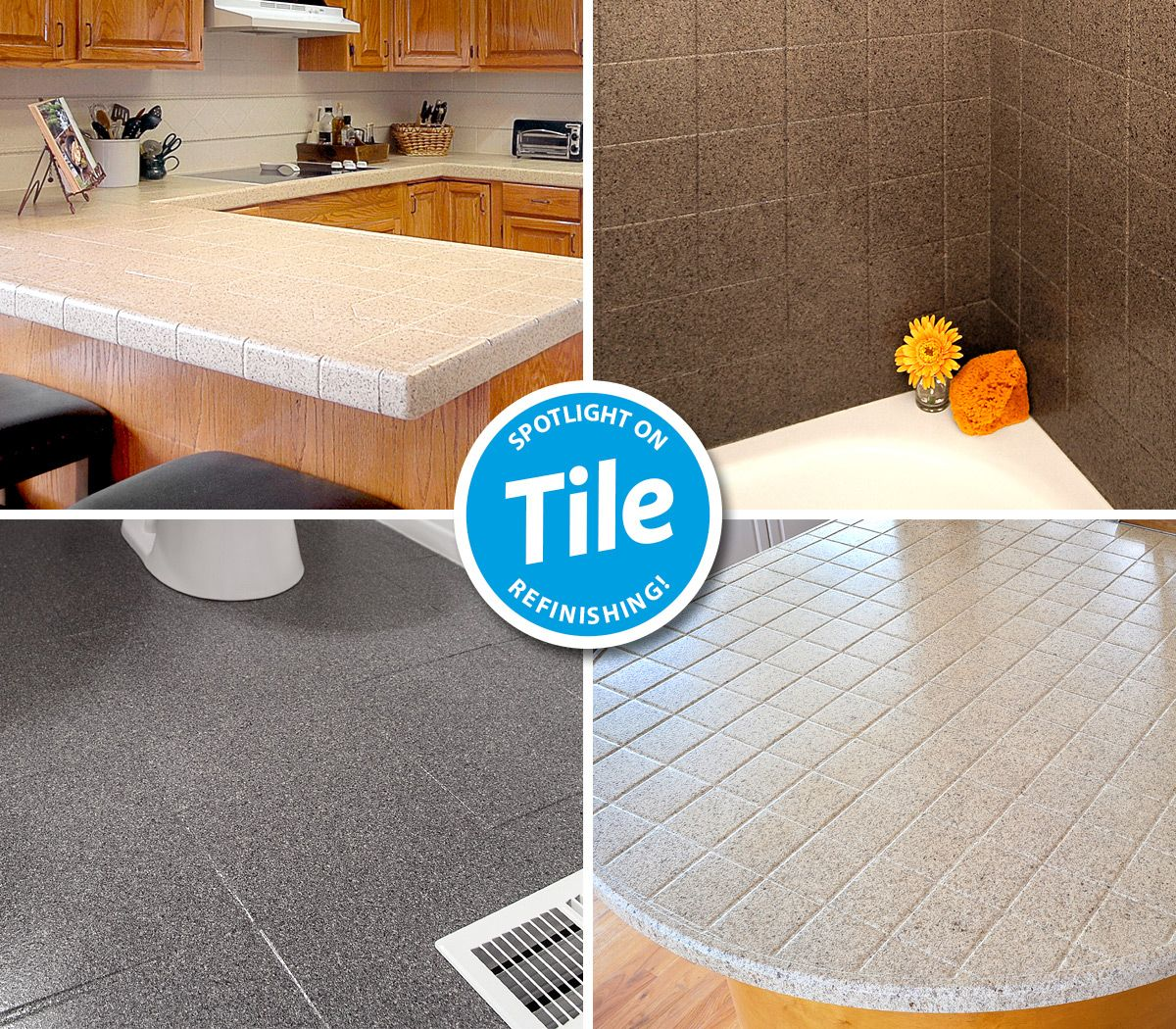 old outdated ceramic tile grout does
