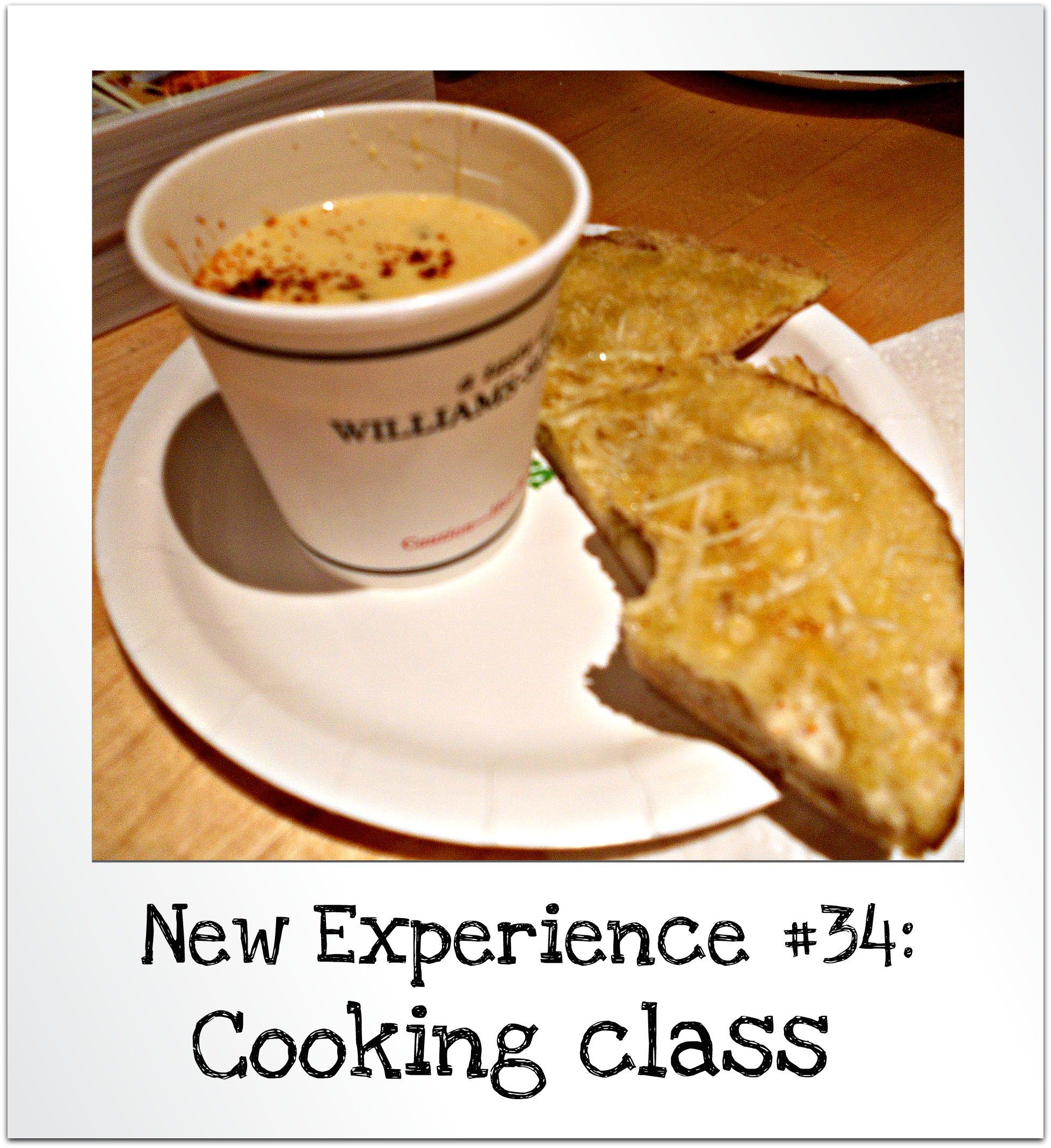 New Experience 34 Cooking Class