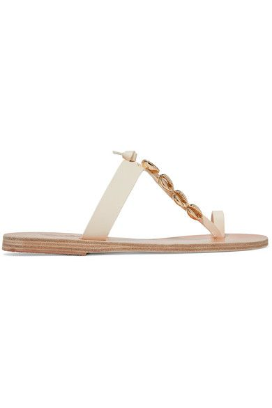 184adeb99ead5 Ancient Greek Sandals - Iris embellished leather sandals in 2019 ...