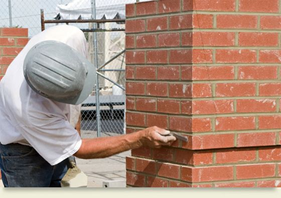 Pointing In Construction Pointing In Brickwork Brick Construction Exterior Renovation Masonry Work Kitchen Remodeling Services