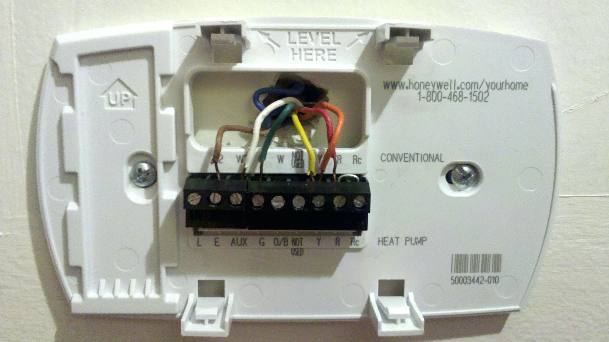Honeywell 8000 Thermostat Wiring Diagram  Help Install Honeywell Vision Pro 8000  Hvac