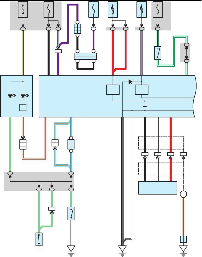 Toyota Hilux Diagrama Del Abs Esquema Electrico Diagrama