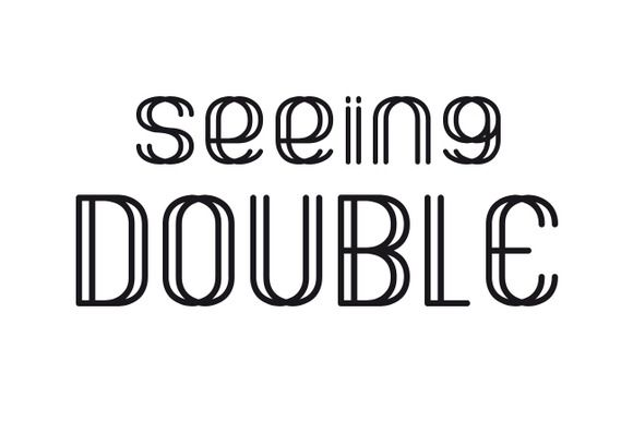 Image result for seeing double