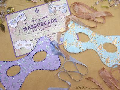 Free Printable Masquerade Masks Cricut Pinterest Masquerade - sweet 16 halloween party ideas