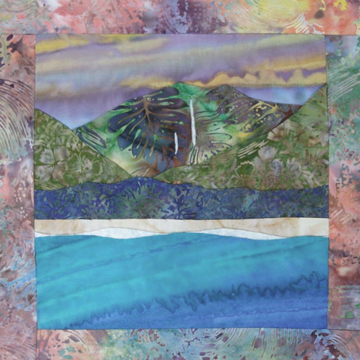 hawaii tropical quilt blocks pinterest fabrics and etsy