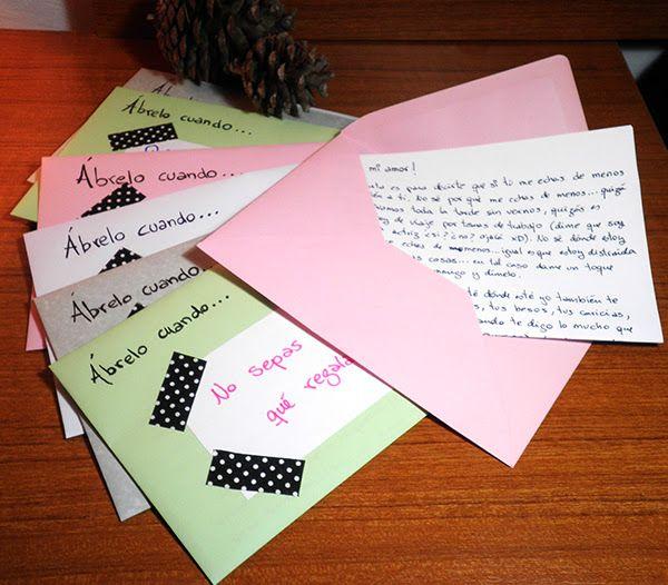 Abrelo Cuando Boda Regalos Manuales De Amor Cartas