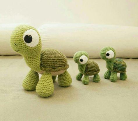 Amigurumi örgü oyuncak kaplumbağa tarifi anlatımlı | amigurumi ...
