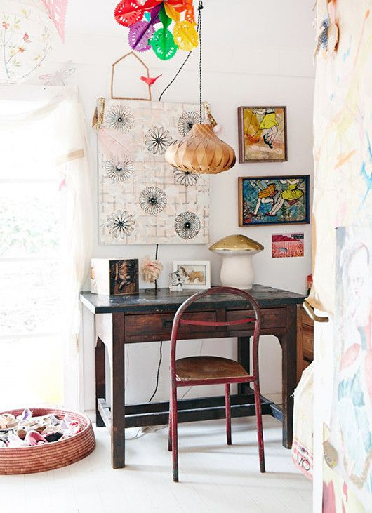 let's start with eclectic color. / sfgirlbybay