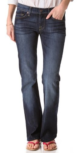 (Limited Supply) Click Image Above: 7 For All Mankind Petite Boot Cut Jeans