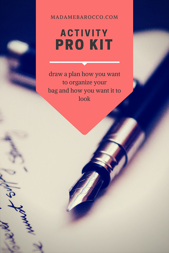 BUILD YOUR PRO KIT SERIES ALL ABOUT THE BAG List of