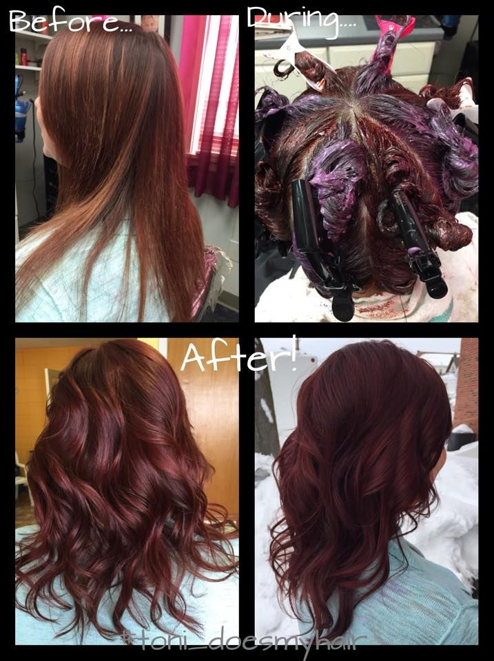 Merlot Hair Color! A fall hair color trend that embraces beautiful ...