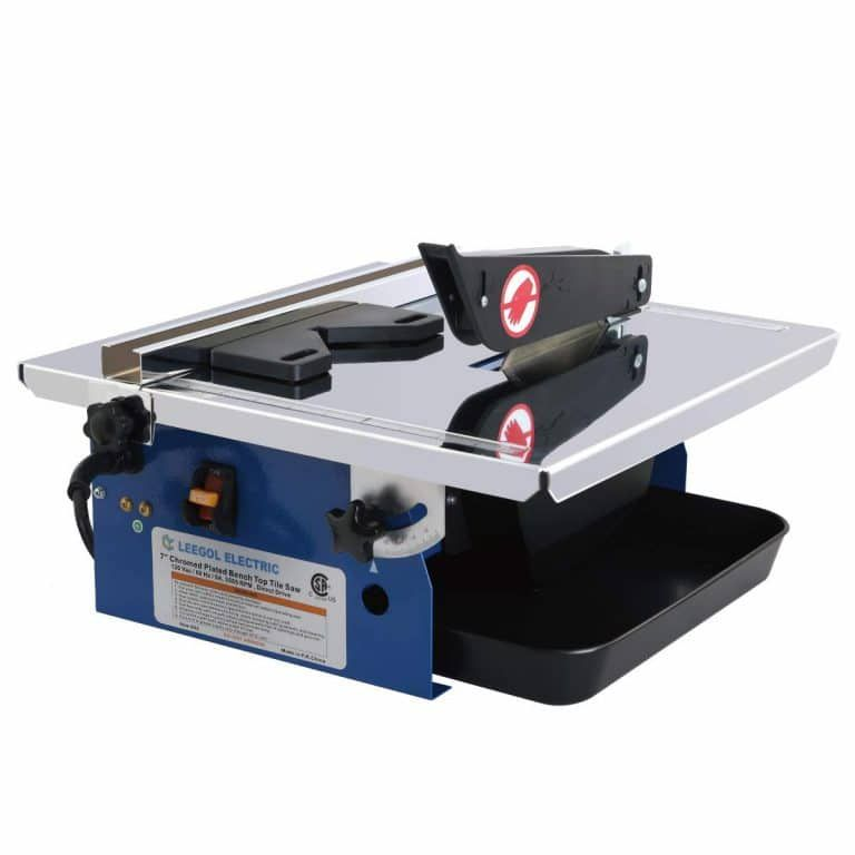 7 Inch Wet Tile Saw By Leegol Electric In 2020 Tile Cutter Tile Saw Porcelain Tile