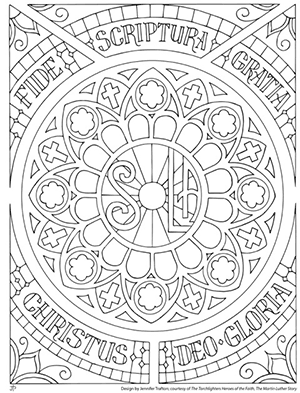 Reformation Coloring Pages : reformation, coloring, pages, Color, Reformation, Torchlighters, Sunday,, Protestant, Reformation,, Luther