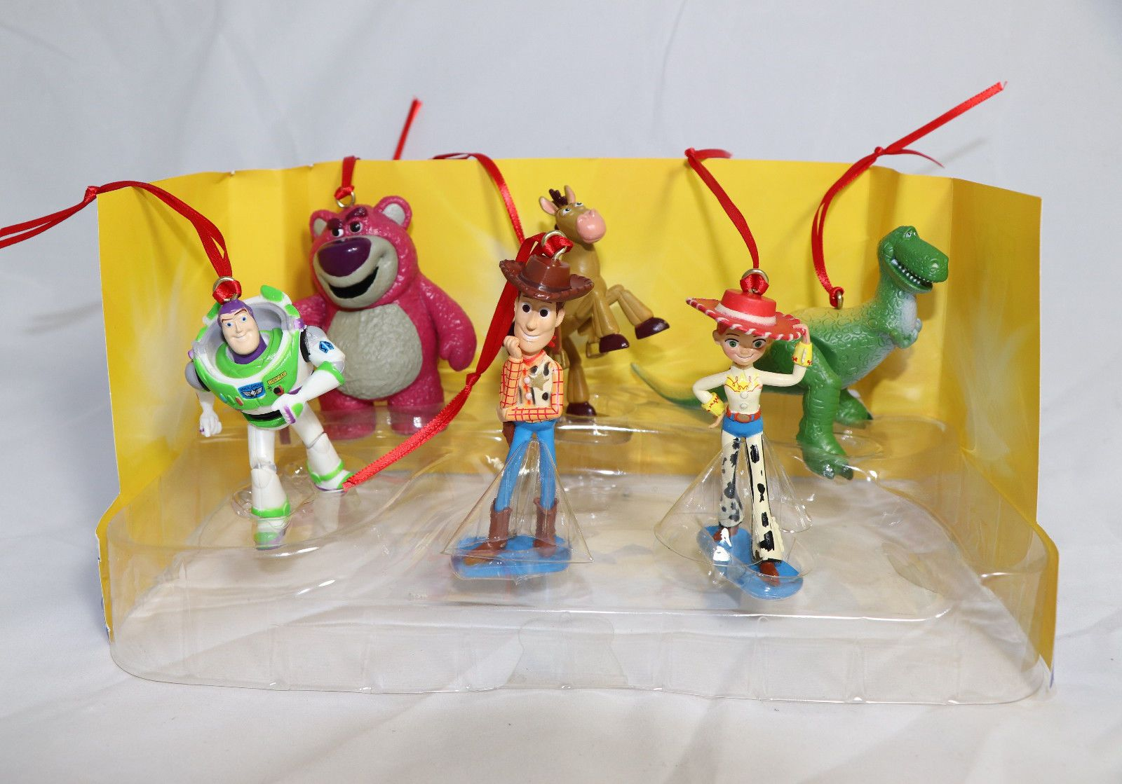 Disney Toy Story Christmas Ornaments 6pc Set Buzz Woody Jessie Bullseye Rex Disney Toys Disney Gifts Pixar Toys