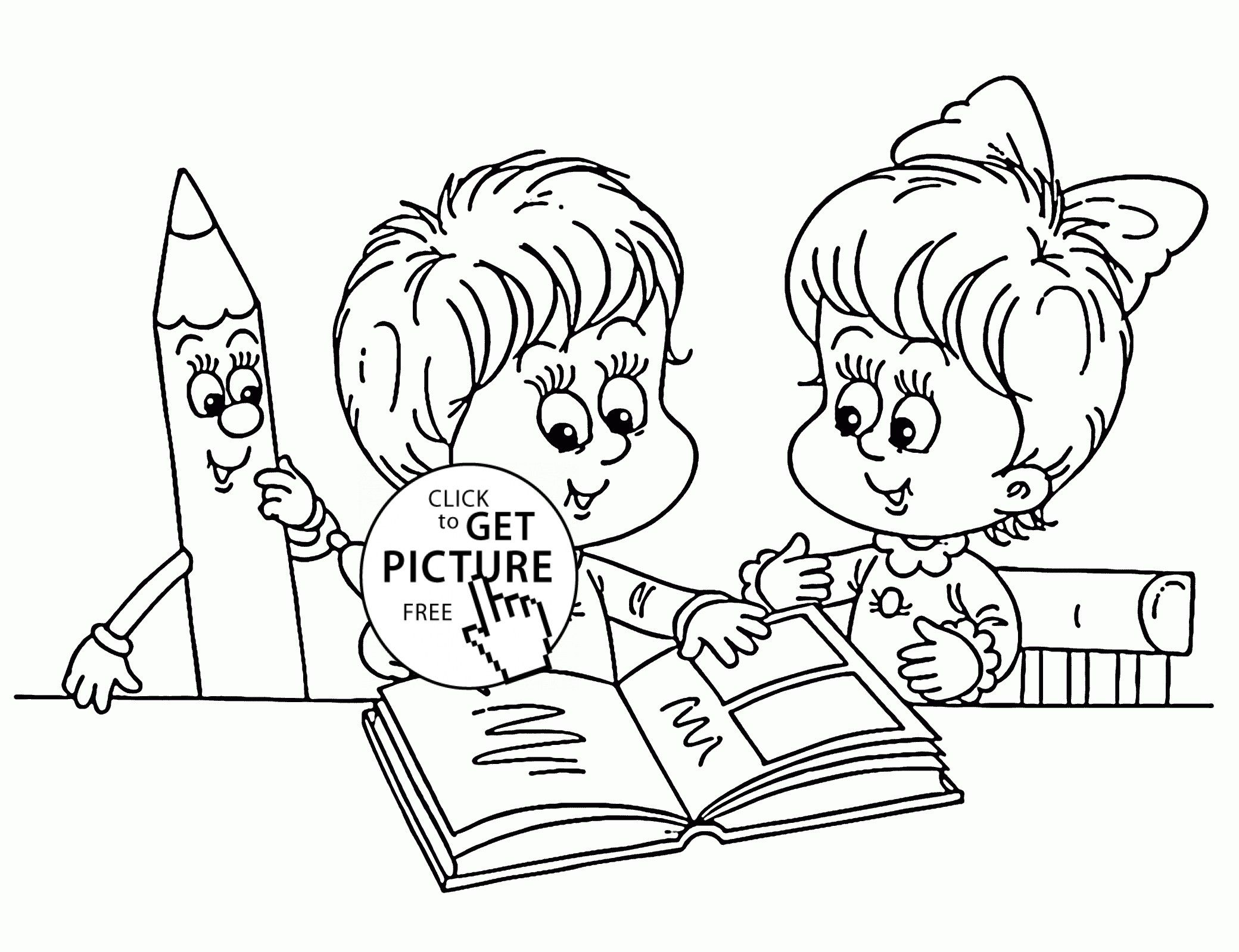 Reading Coloring Pages Printable Toddler Coloring Book Sunday School Coloring Pages School Coloring Pages