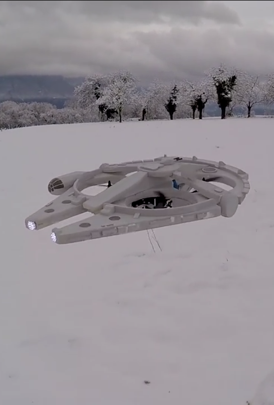 How do you make drones cooler -- turn them into the Millennium Falcon from…