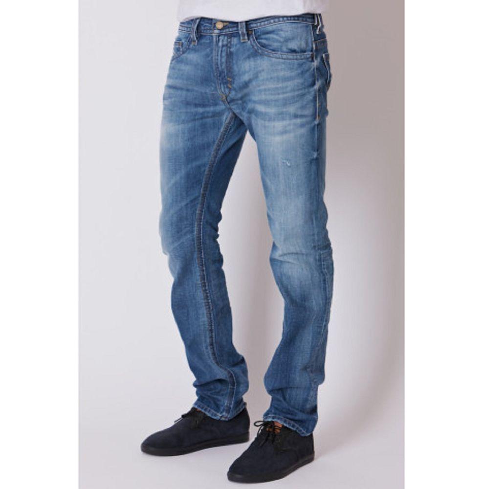 2ce67998 Mens Diesel Jeans 30 x 32 THAVAR 805Q Skinny, Slim Denim NEW AUTHENTIC