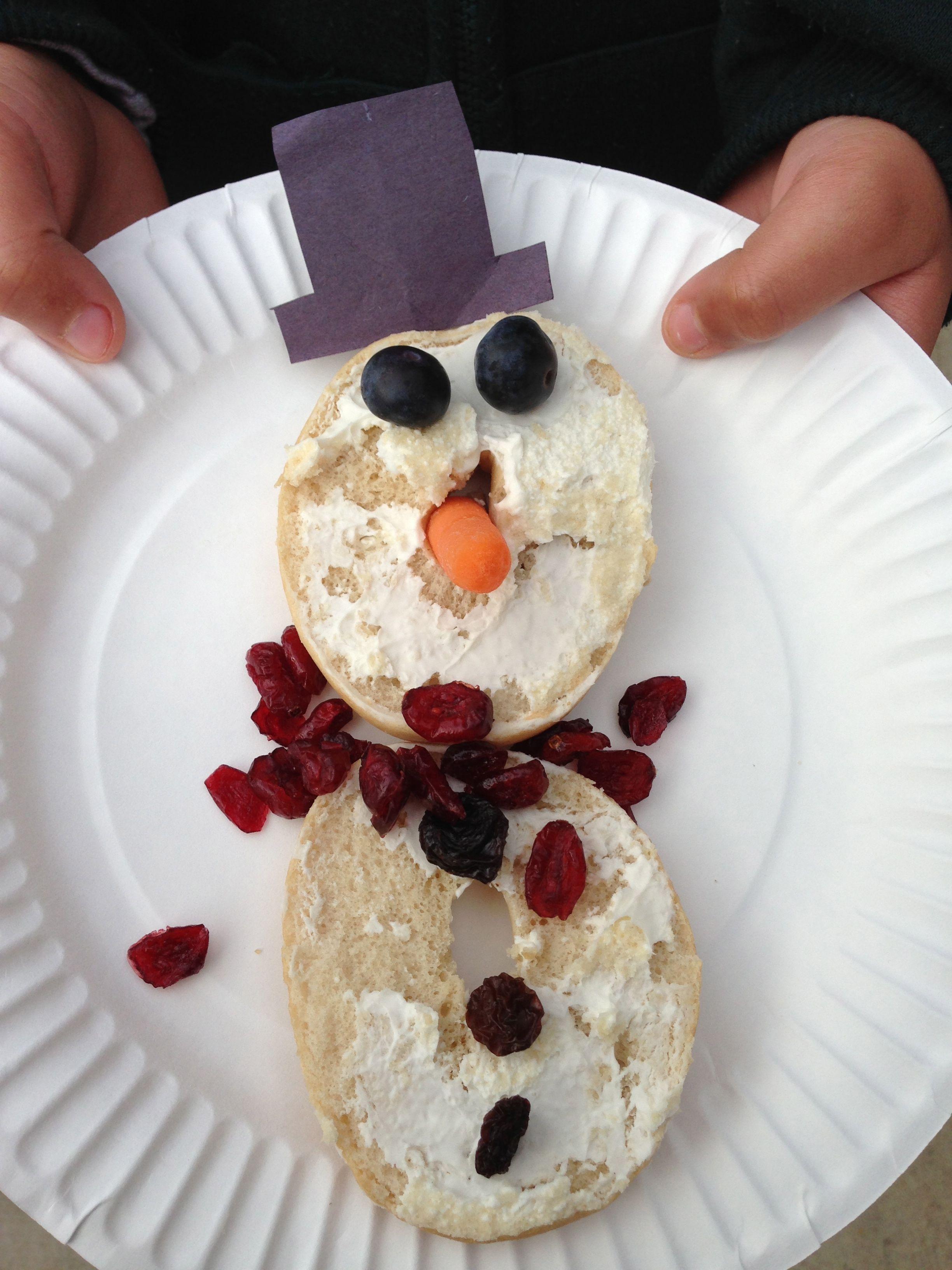 Healthy Snacks - Winter theme | Kids party snacks, Preschool cooking