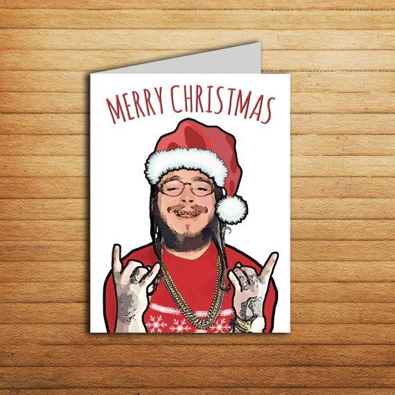 Post Malone Dad: Post Malone Card Valentines Day Card Printable Funny