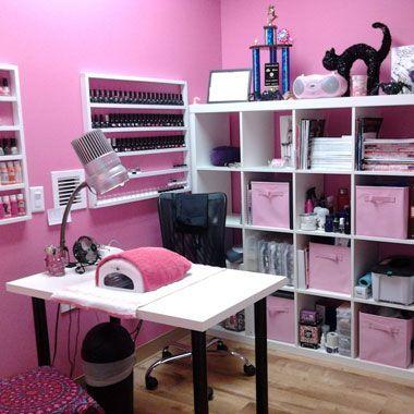 Pequeño | Salon de uñas, Ideas de salón de uñas ...