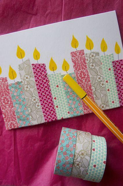 Birthday Card Diy Carte Anniversaire Idee Carte Anniversaire Et