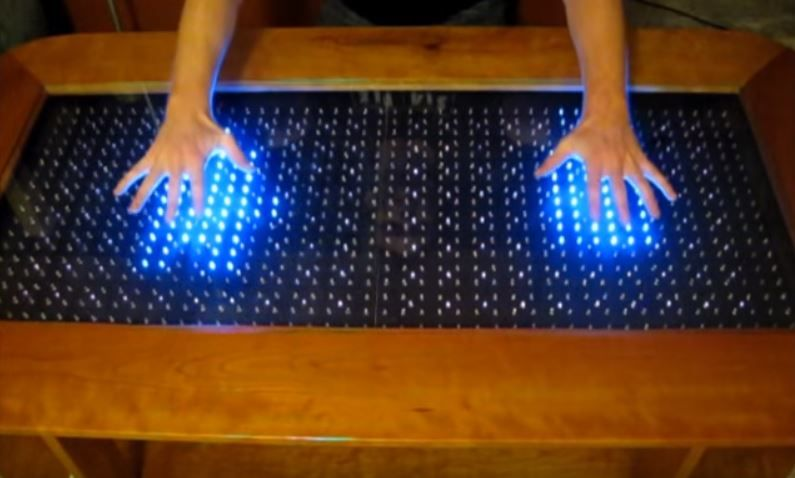You Can Create A Reactive Led Coffee Table Using Arduino Micro Https Www Youtube Com Watch V Fxkepkggv8o F Arduino Projects Pi Projects Electronics Projects