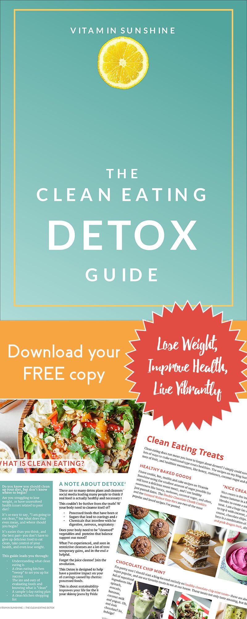 The clean eating detox pinterest clean eating detox and meals the clean eating detox a clean eating lifestyle has changed my life and if you know youre ready to make some positive changes id love to help fandeluxe Choice Image