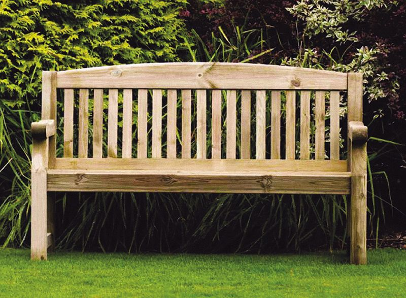 Emily 5ft Bench With Free Brass Plaque Link: Http://www.hayesgardenworld