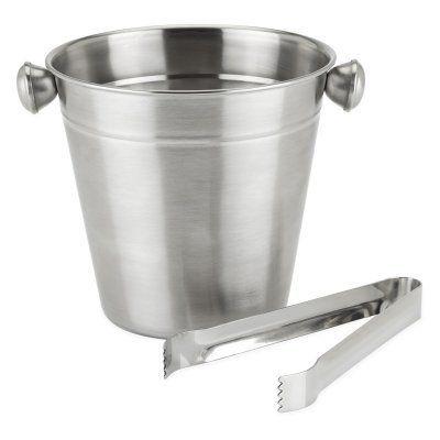 True Frigid Ice Bucket and Tongs - 5447