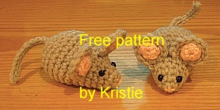 Little Amigurumi Patterns Free : Little mouse pattern free original patterns crochetville