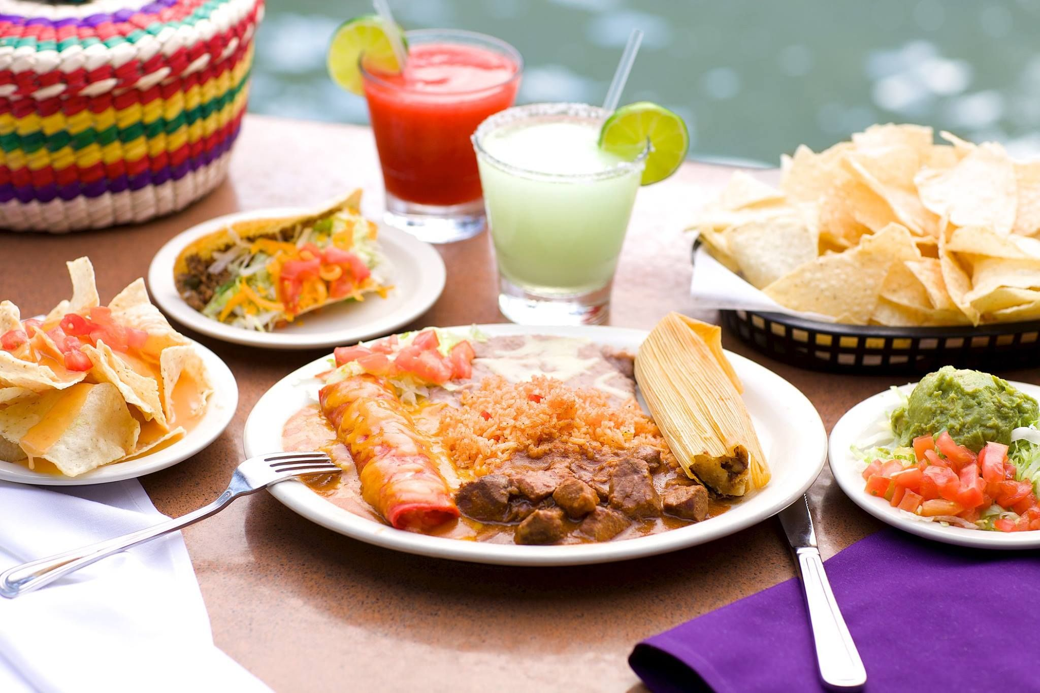 Casa rio mexican see a nice view and taste one of the