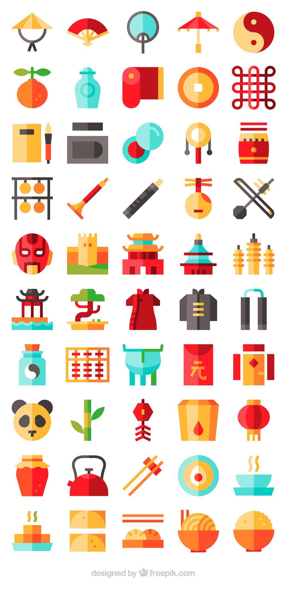 50 free vector icons of China designed by Freepik China