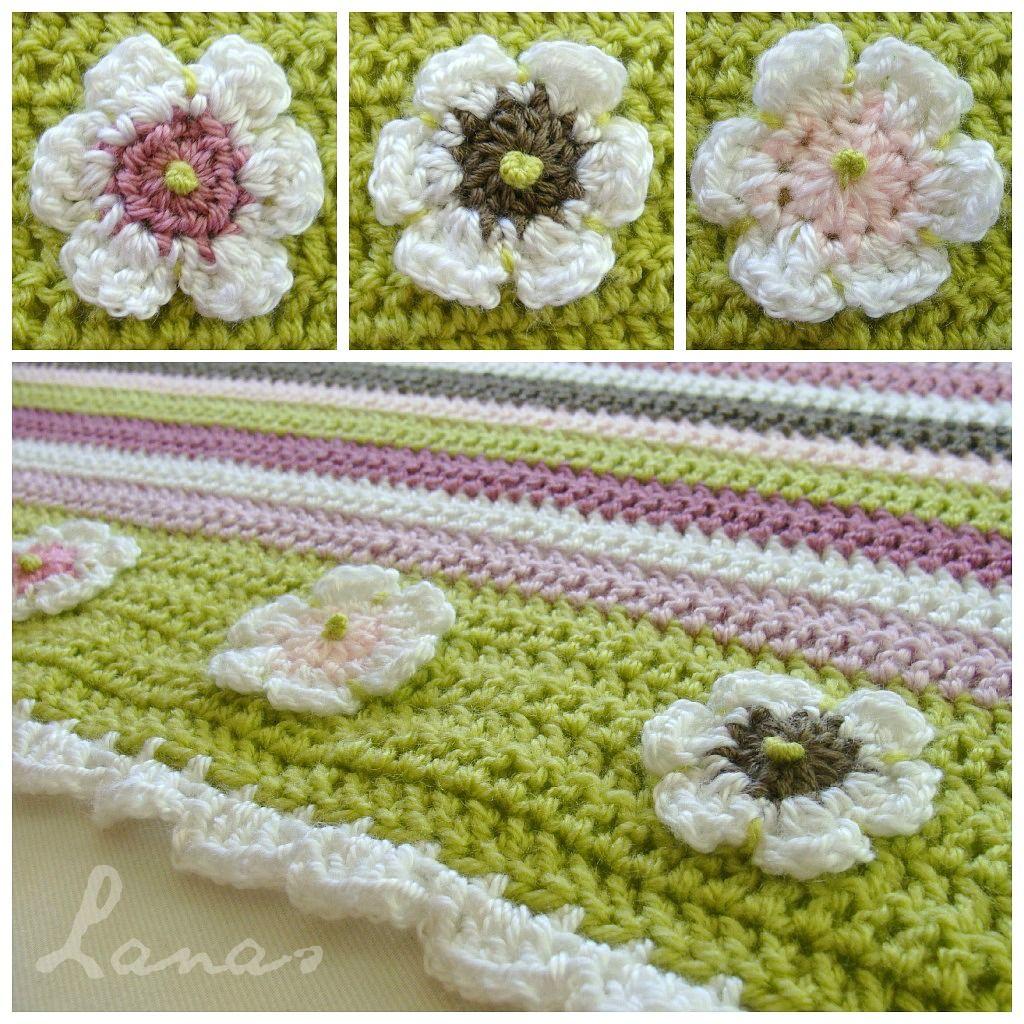 Excelente Crochet Patrón De Corazón Libre Regalo - Manta de Tejer ...