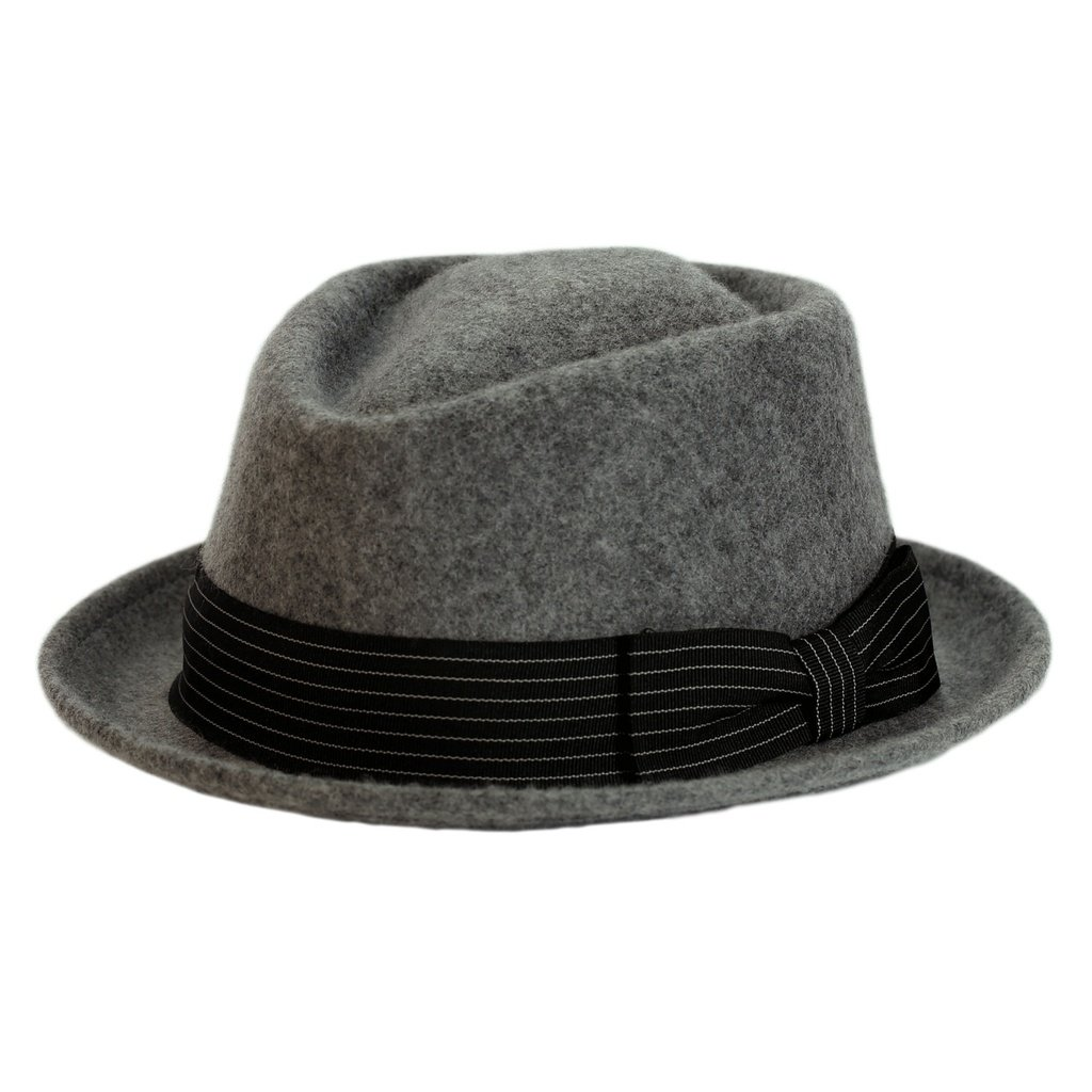 b4bad5accc50f Levine Hat 9th Street Boxer Porkpie Wool Fedora