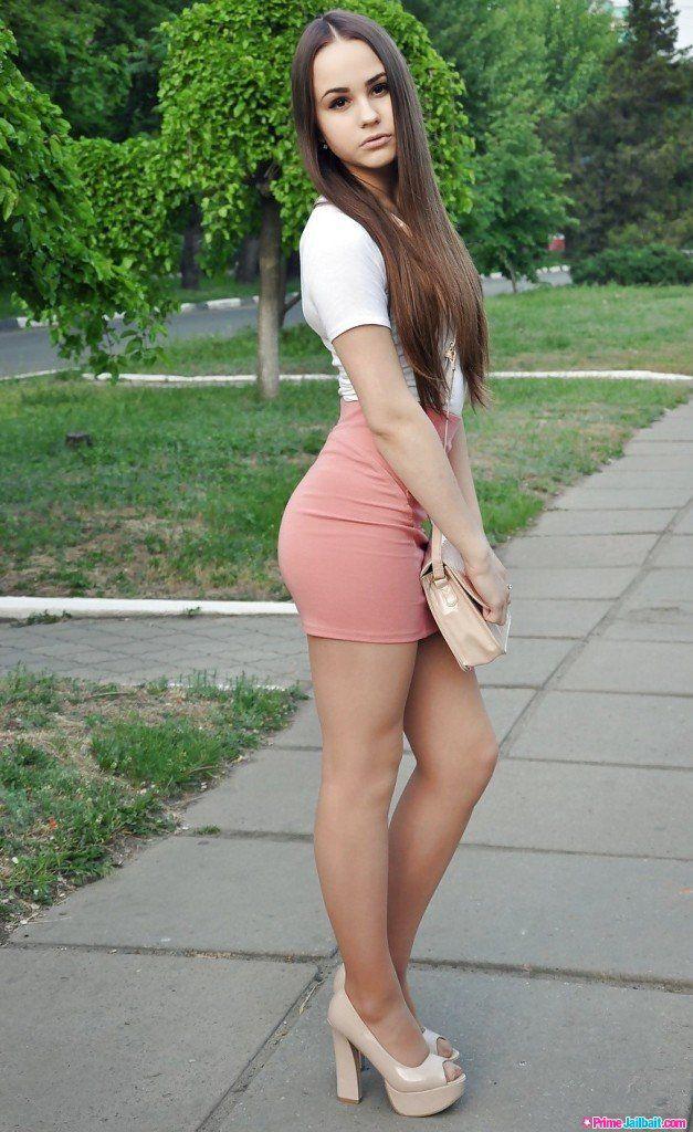 Teens in mini skirts, unusual cunts