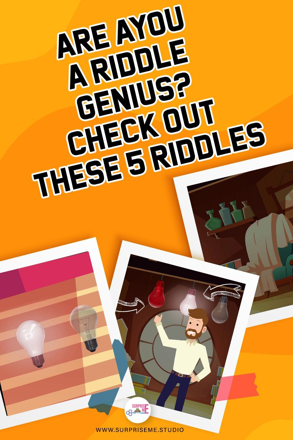 Are YOU a Riddle Genius? Check out these 5 riddles in 2020