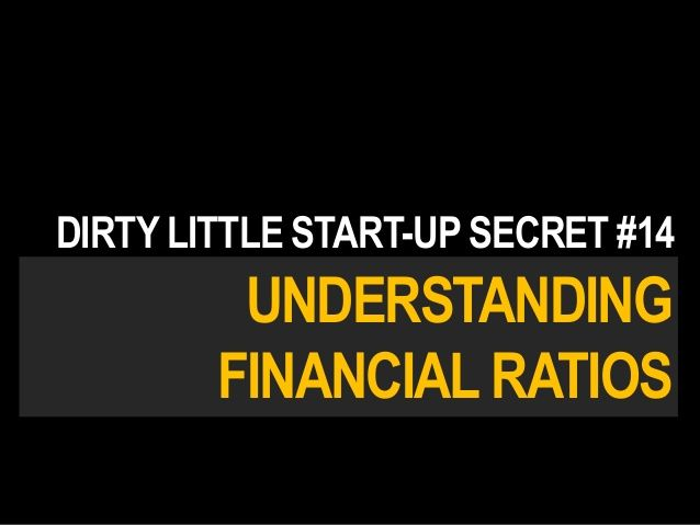 Financial Ratios For Entrepreneurs  FinanceInvestmentsEconomics