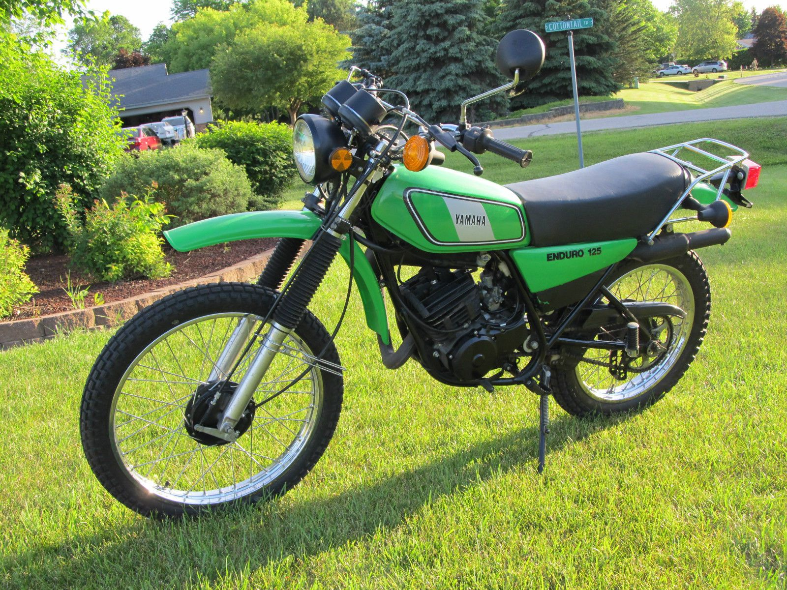 yamaha dt 125 ebay 1978 yamaha dt125e yamaha enduro. Black Bedroom Furniture Sets. Home Design Ideas