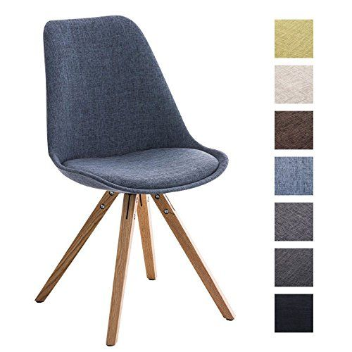 clp design retro stuhl pegleg square, holzgestell natura, Esszimmer dekoo