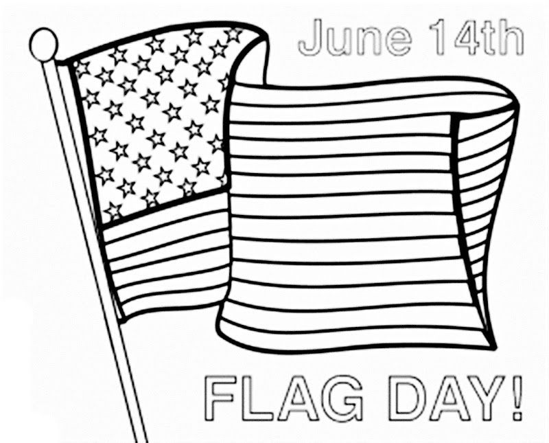 Usa Flag Cap Coloring Pages Independence Day Colorine