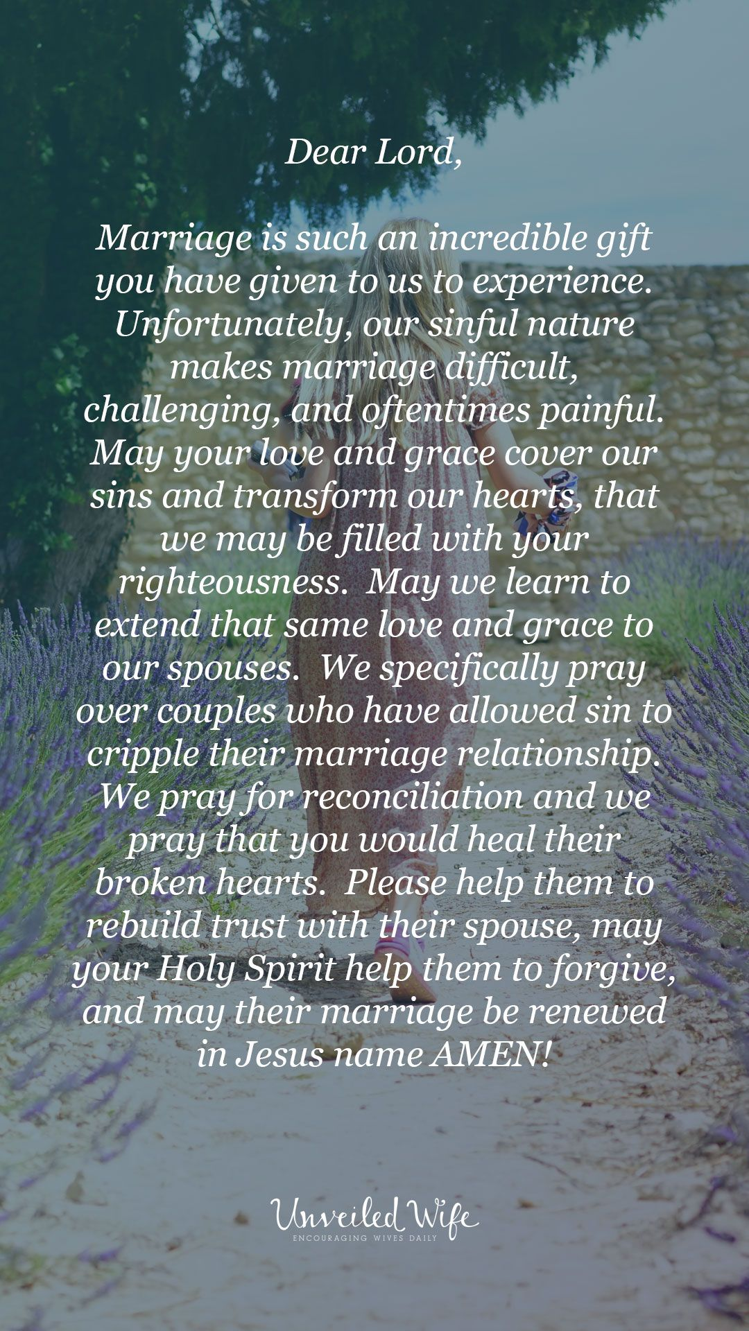 Prayer Of The Day - Rebuilding Trust In Marriage | Marriage
