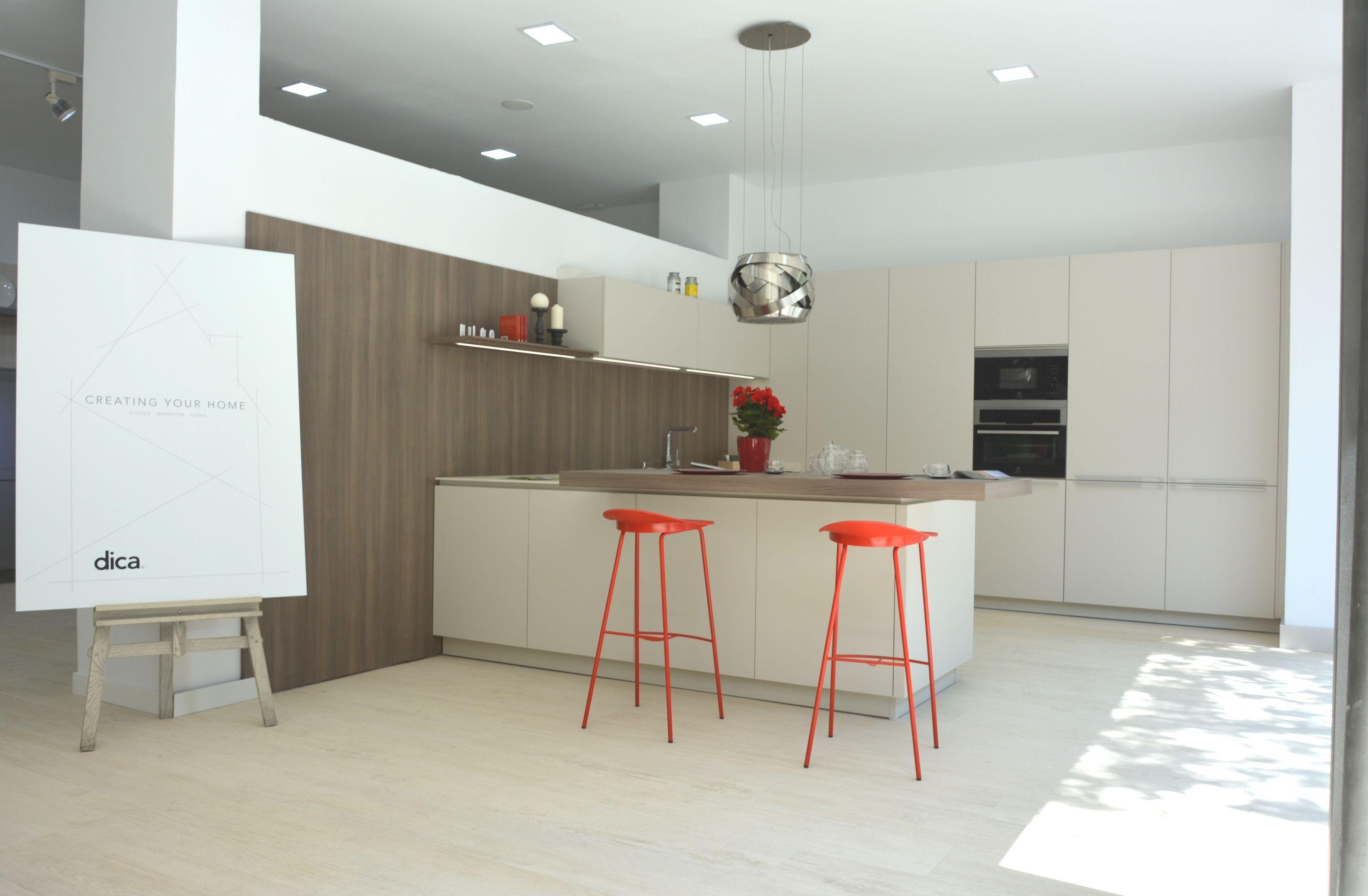 Milano dica techlam hydra beige suelo wood aspen - Abaco cocinas ...