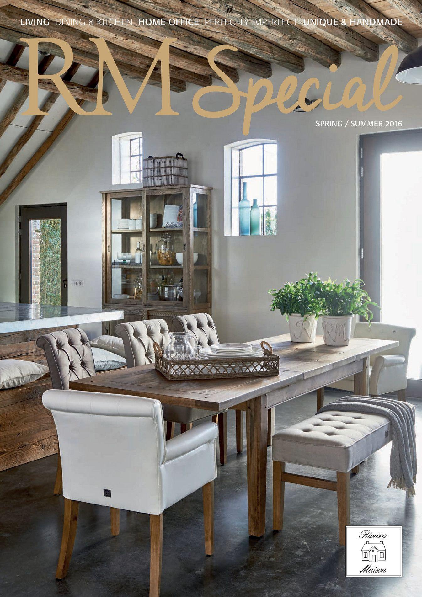 Riviera Maison Eetkamerbank.Rm Magazine Special Spring Summer 2016 Nl Riviera Maison My Way