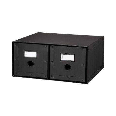 Granit.com - Box Drawer Double Graphite   Granit.com