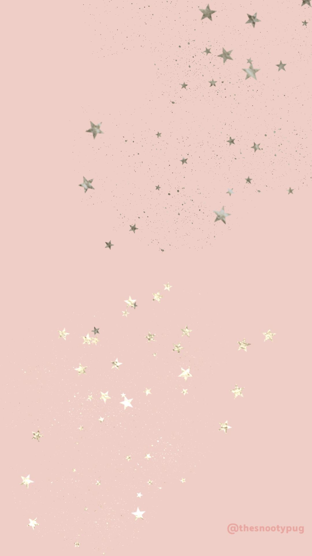 Papier Peint Rose Etoiles In 2020 Star Wallpaper Iphone Background Wallpaper Aesthetic Iphone Wallpaper