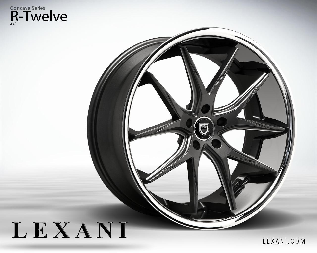 Lexani Wheels The Leader In Custom Luxury Wheels Wheel Detail R Twelve Part Of The Concave Series Wheel Concave Car Wheel